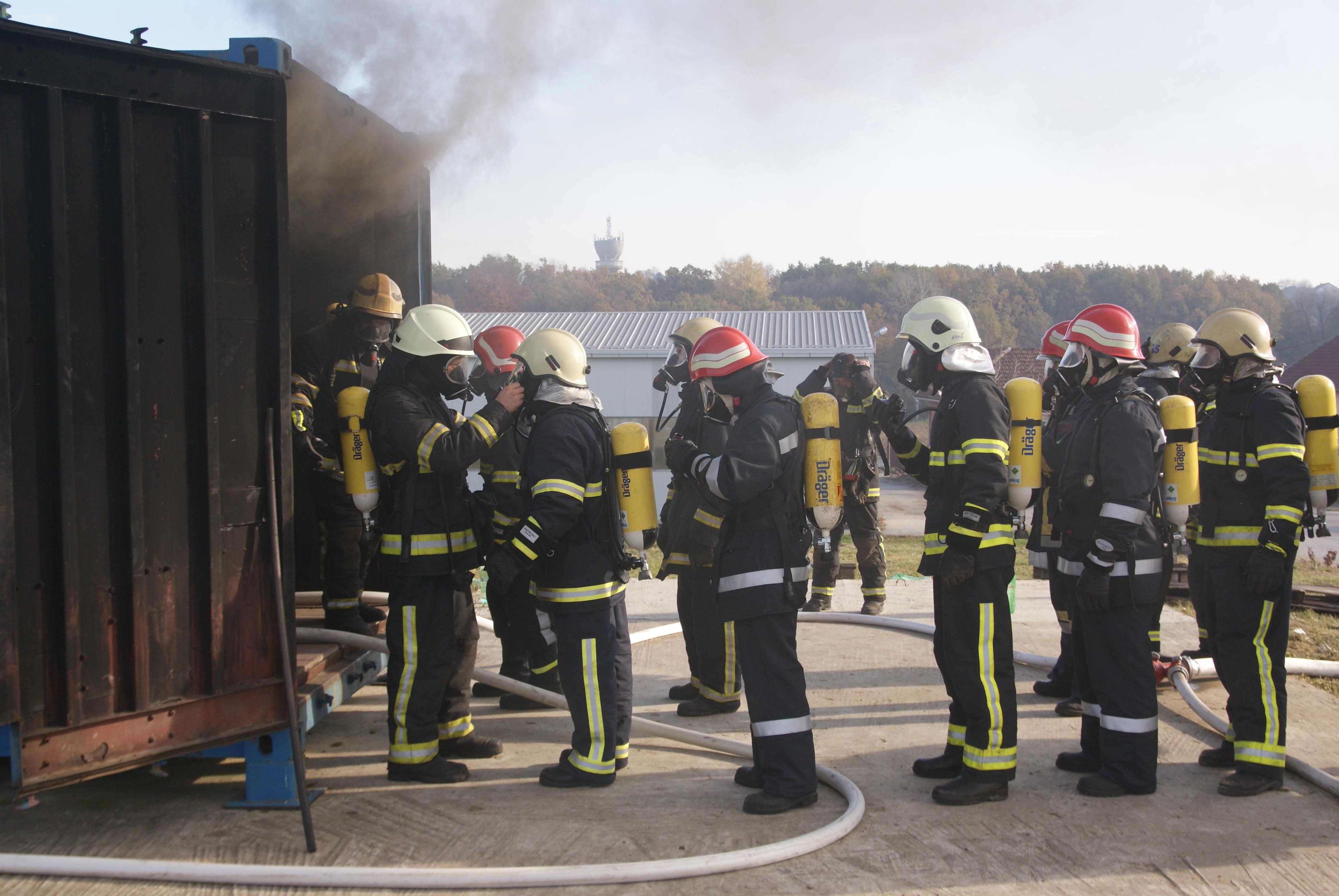 simulator plamenih udara Našice usavršavanje