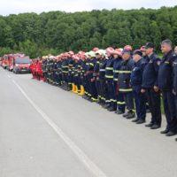 pokazna vježba Borovik civilna zaštita