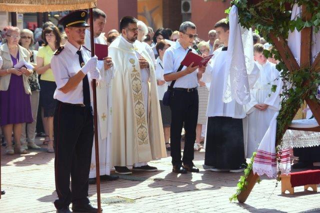 Tijelovska procesija Belišće