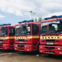 Engleska vatrogasna vozila