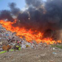 Požar odlagališta Belišće