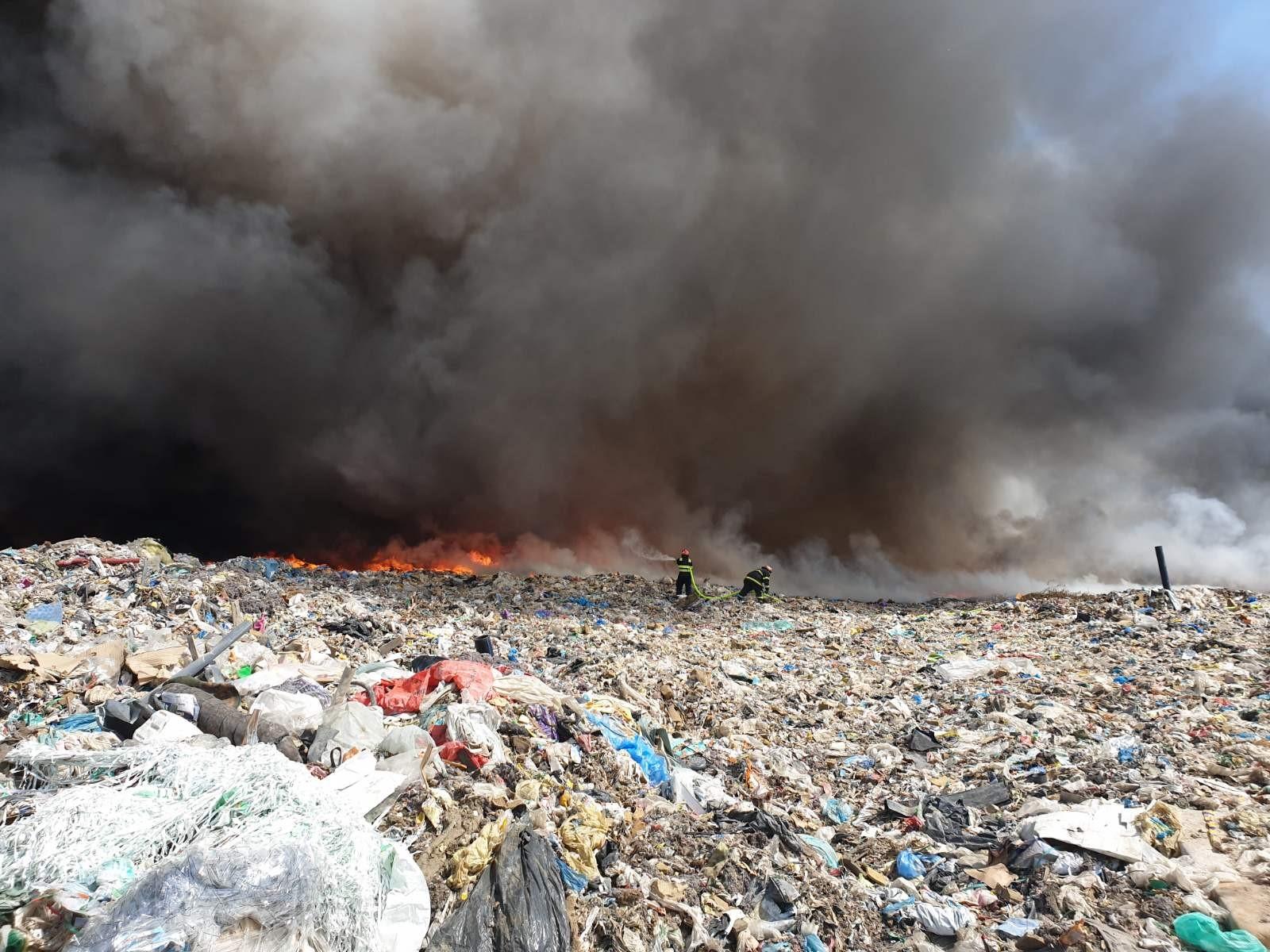 Požar Belišće otpad